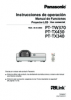 PT-TW370/TX430/TX340 Operating Instructions (Spanish)