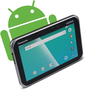 Panasonic has an established track record as a trusted supplier of managed Android solutions.